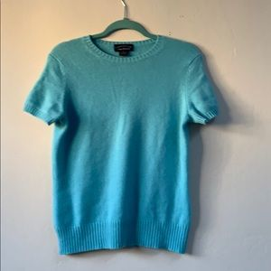 Charter club 2- ply cashmere top